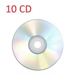 10 CD vierge