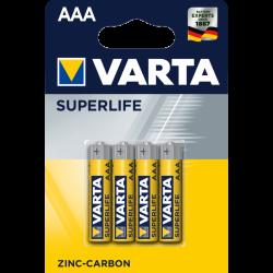 4x Piles AAA Varta 1.5V