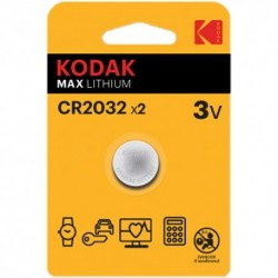 Piles Bouton 3V Kodak Ultra...