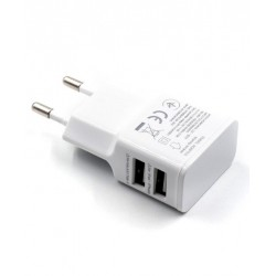 Chargeur Micro USB 2 Ports