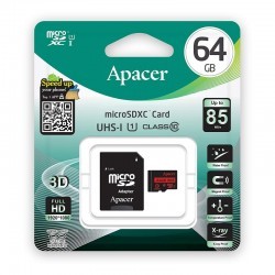 Carte mémoire Apacer 64 Go...
