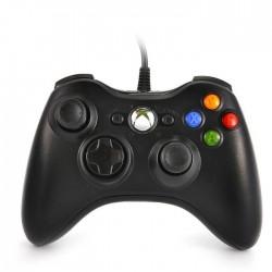 Manette Filaire Noire Xbox 360