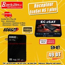 Récepteur EcoSat HS 1 PLUS