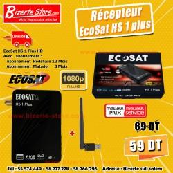 Récepteur EcoSat HS 1 PLUS...