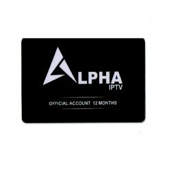 Abonnement Alpha IPTV - 12...